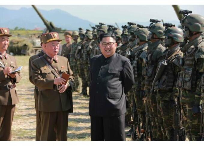 exercitiu militar Coreea de Nord Kim Jong-un