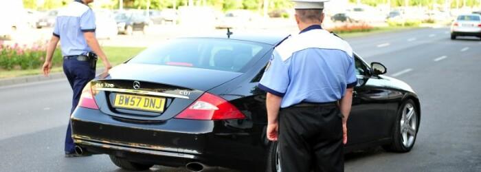 Sofer, Politia Rutiera