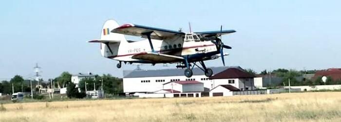 Avion prabusit in Braila - STIRI