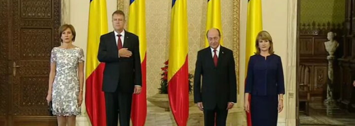 Cover Iohannis Basescu Cotroceni