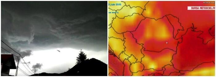 Fenomenele extreme, precum tornadele sau canicula, vor deveni la ordinea zilei in Romania. Avertismentul lansat de experti