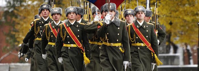soldati rusi la parada in 2006