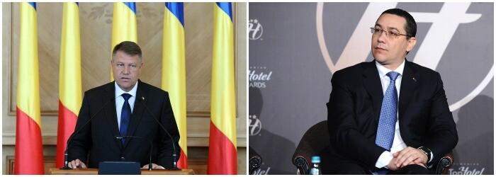 Iohannis, Ponta cover - agerpres