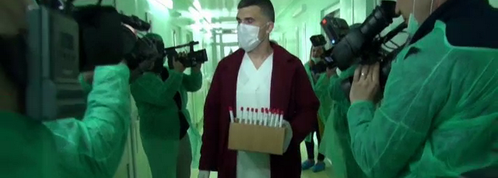 Un nou episod in scandalul Hexi Pharma. Cine stia de apa livrata cu eticheta de dezinfectanti in spitalele din toata Romania