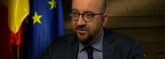 Premierul belgian Charles Michel
