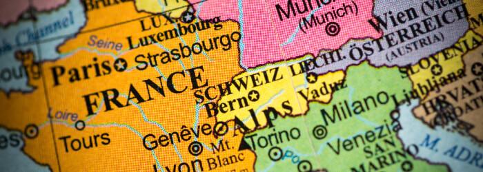 harta Europa de Vest spatiul Schengen