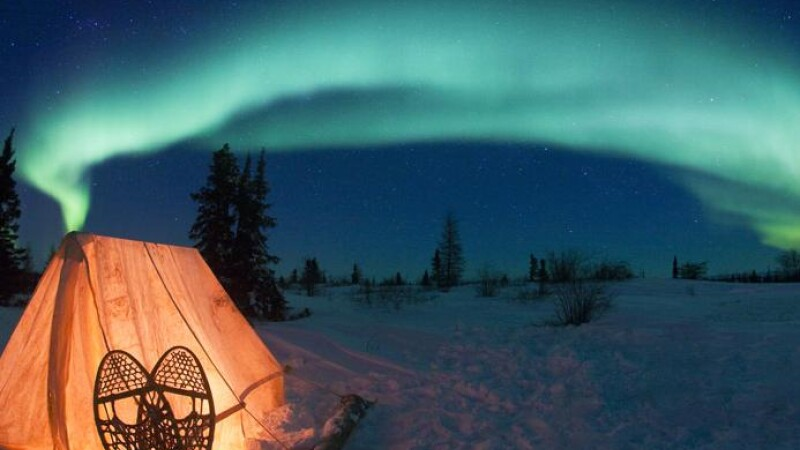 Poze SPECTACULOASE! Aurora Boreala surprinsa la Polul Nord!