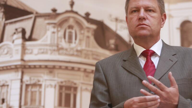 Iohannis: Ministrul de Interne, care voi fi eu, stabileste cand vor fi alegeri pentru Primaria Sibiu