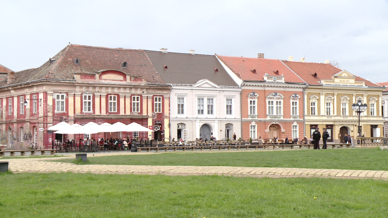 S-a dat startul concursului pentru cea mai frumoasa terasa din centrul Timisoarei. Cum va fi aleasa