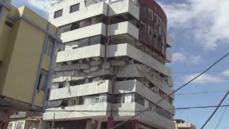 Bilantul seismului din Ecuador a ajuns la 350 de morti si 1.500 de raniti. O localitate a fost distrusa in proportie de 90%