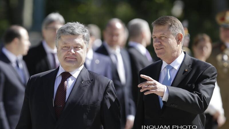 Petro Porosenko si Klaus Iohannis