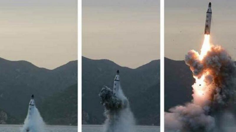 Coreea de Nord a lansat doua rachete puternice, in decurs de cateva ore. Unul dintre proiectile a cazut in Marea Japoniei
