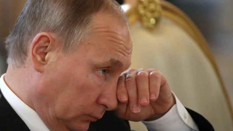 "Vladimir Putin considera ca atacul american asupra bazei aeriene siriene este o ""agresiune impotriva unui stat suveran"