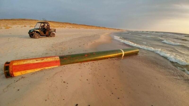 Torpila ruseasca, gasita pe o plaja din Lituania. Care sunt cele mai mari ingrijorari ale acestei tari