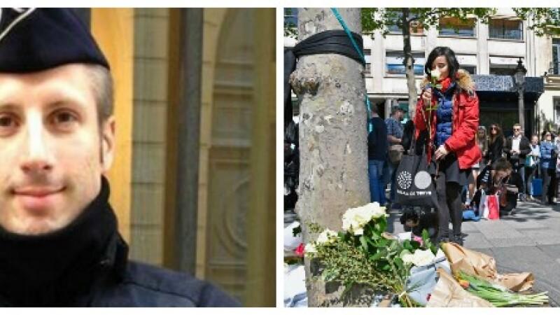 Atac terorist in Paris. Anchetatorii au gasit o nota langa cadavrul atacatorului. Cine este politistul care a fost ucis