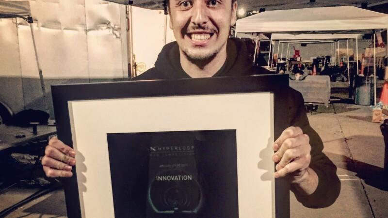 Denis Tudor, studentul roman care munceste la viitorul trenului de hiper-viteza, a luat locul 1 la Inovatie in SUA