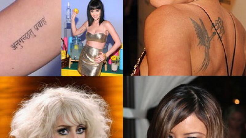 Top cele mai penibile tatuaje de la Hollywood - GALERIE FOTO