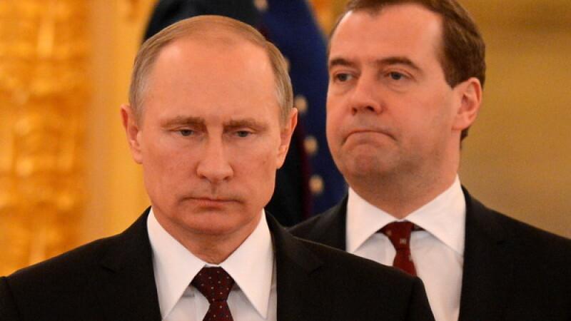 Rusia introduce un embargou alimentar impotriva Ucrainei incepand de la 1 ianuarie 2016. Explicatiile lui Medvedev