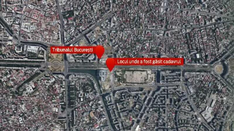Un barbat a fost gasit spanzurat, pe un teren din centrul Capitalei. Anchetatorii au descoperit la el o copie dupa buletin