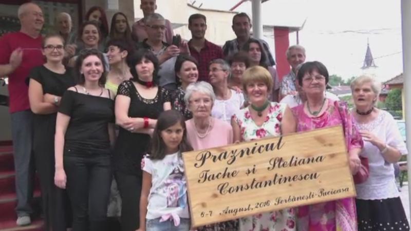 Din 4 in 4 ani, 70 de membri ai familiei Constantinescu se revad la Pucioasa. Oamenii sunt imprastiati pe 3 continente