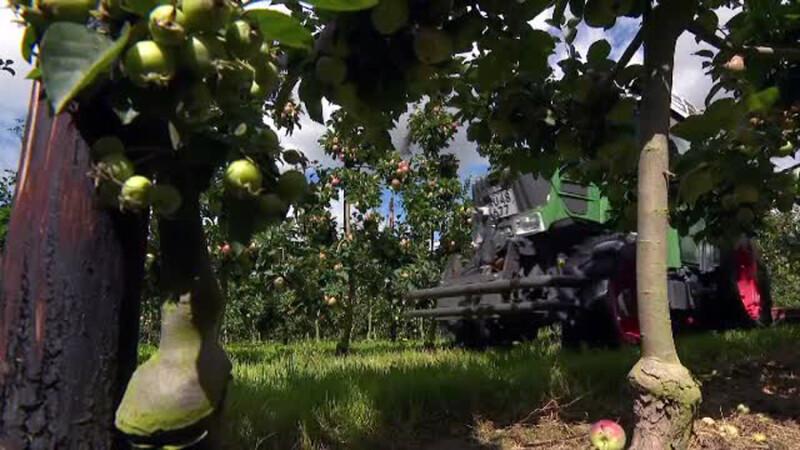 Tractorul inteligent, care face treaba singur in livada. Cine este primul fermier care si l-a cumparat