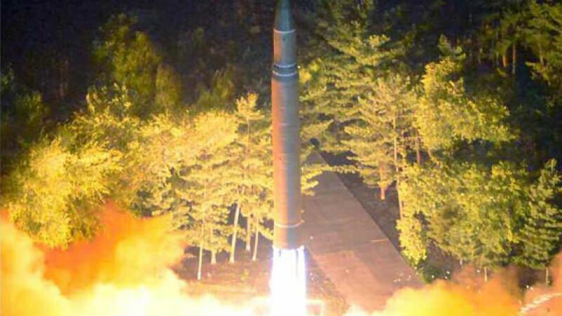 Coreea de Nord poate lansa bombe nucleare cu noile sale rachete