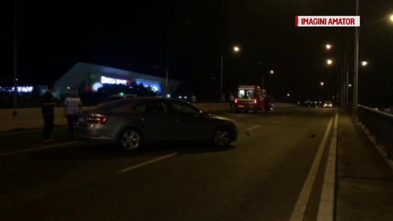 Motociclistul care a murit după ce a fost lovit de două mașini era agent SRI