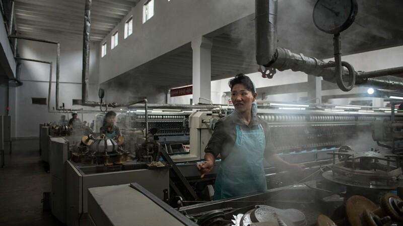 fabrica de textile din Phenian