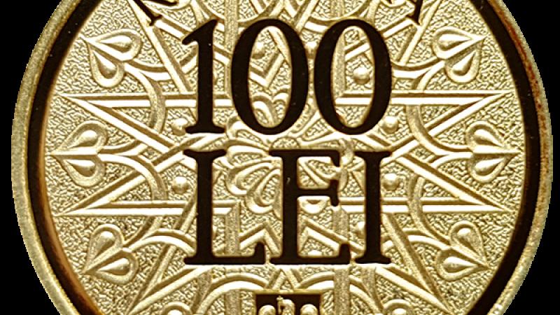 moneda de aur BNR