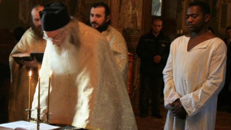Congolezul convertit la ortodoxie de către Iustin Pârvu