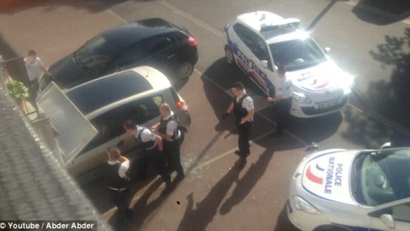 sofer impuscat de politia franceza