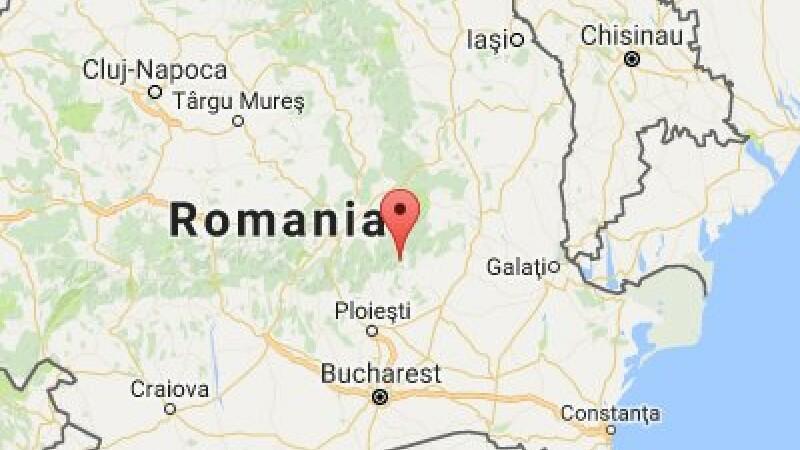 Cutremur cu magnitudinea 3,8, în Vrancea
