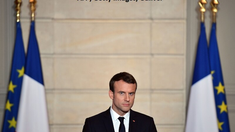 Emmanuel Macron - AFP/Getty