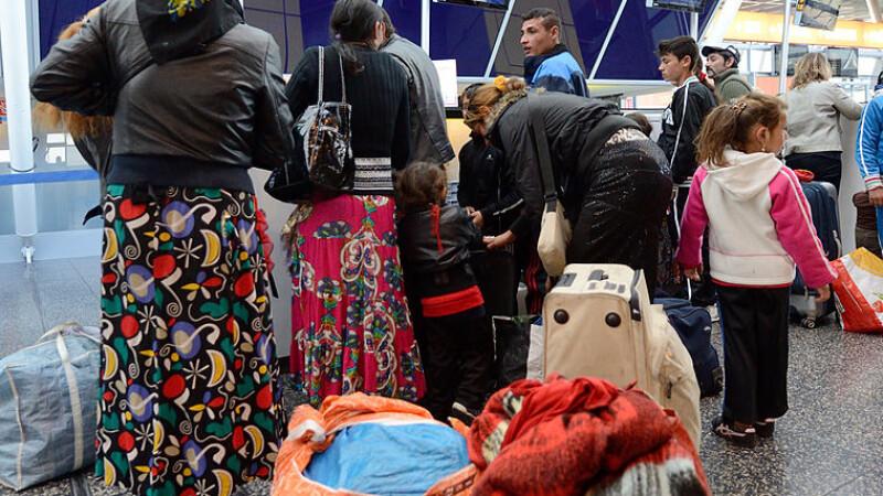 Francezii cer 8 ani de detenție pentru țiganii români care își învățau copiii să fure