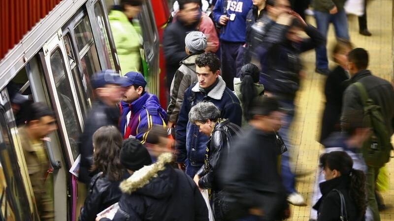 La metrou bate din nou vant de greva