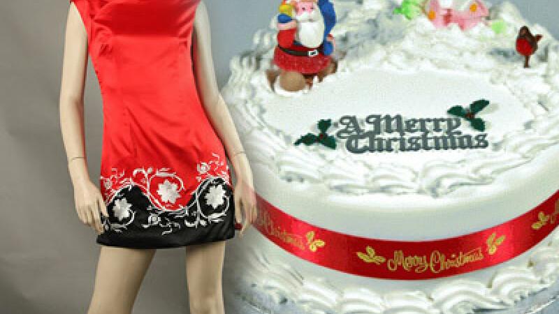 Tendinte culinare si vestimentare de Craciun! Un tort sau o rochie noua?