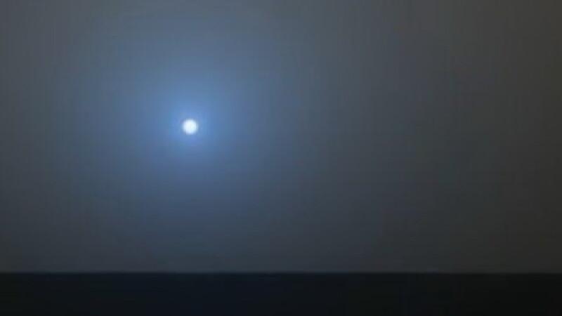 Apusul Soarelui pe Marte este ... albastru. Afla de ce! Video