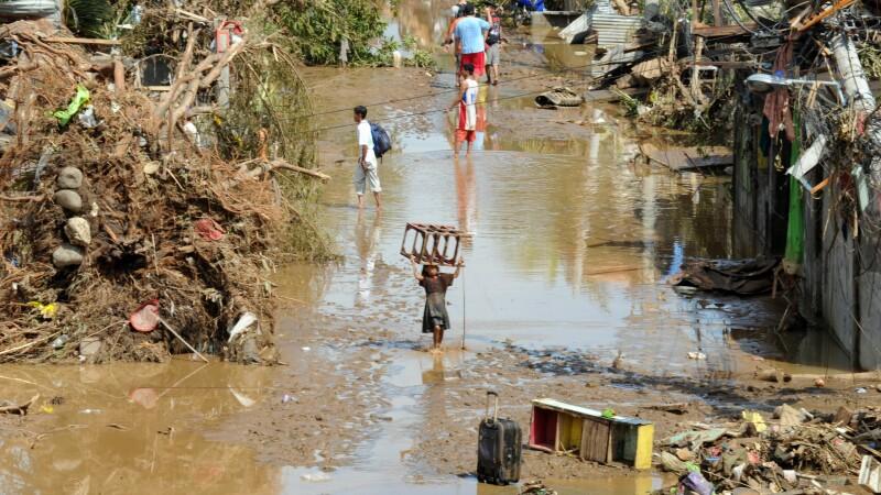 Arhipelag transformat in cimitir. Bilantul furtunii tropicale din Filipine a ajuns la 652 de morti