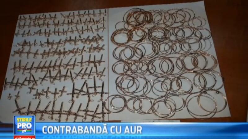 13 persoane au fost retinute intr-un dosar de contrabanda cu aur