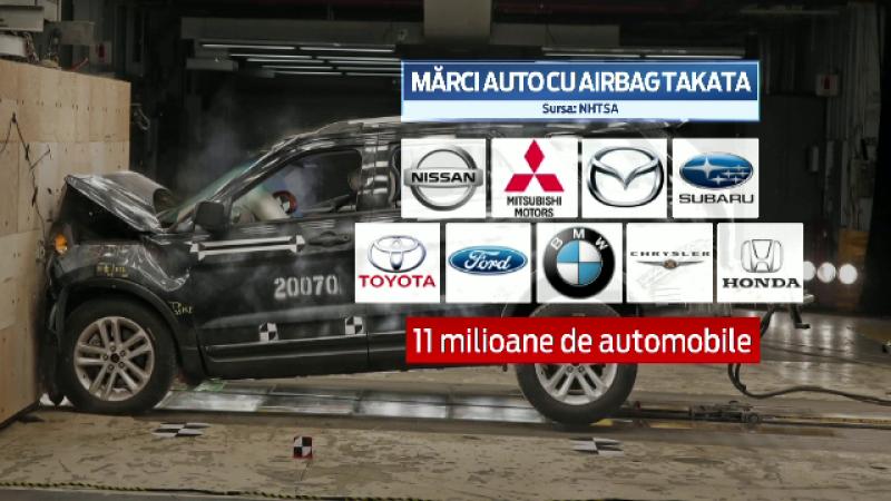 Masinile BMW, Honda si Toyota rechemate in service pentru o problema ce poate fi chiar fatala. Ce se intampla cu airbag-urile