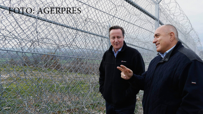 Bulgaria, data ca exemplu in criza refugiatilor. Ce au discutat David Cameron si Boiko Borisov