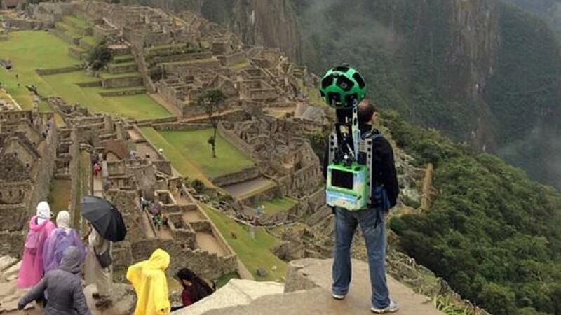 VIDEO Ultimul proiect Google Street View - destinatia Machu Picchu
