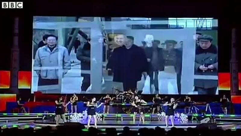 Grup pop, alcatuit din domnisoare, trimis de Kim Jong Un in misiune diplomaticala Beijing