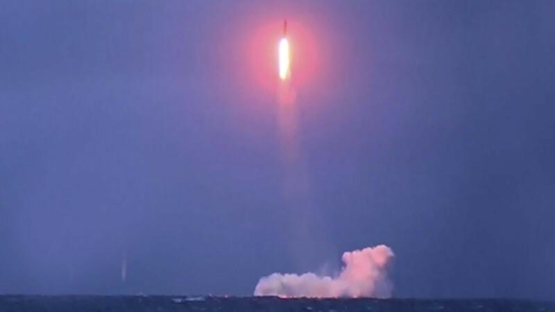 Rusia anunta ca a testat cu succes o racheta balistica de pe un submarin nuclear in imersiune. Imaginile difuzate