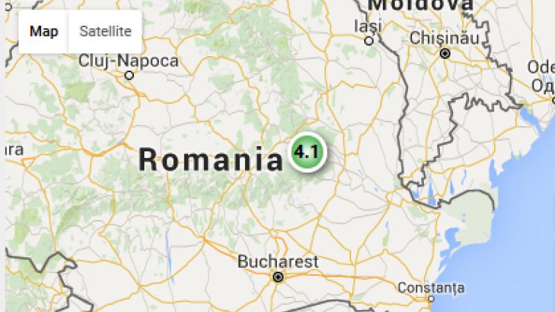 Cutremur cu magnitudinea de 3, in judetul Vrancea, vineri dimineata. Cele mai apropiate localitati de epicentru