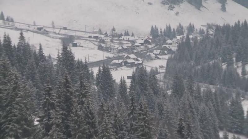 Regiunea din Romania cu cel mai frumos peisaj de iarna. Cat platesc turistii pentru a petrece Craciunul intr-un decor de vis