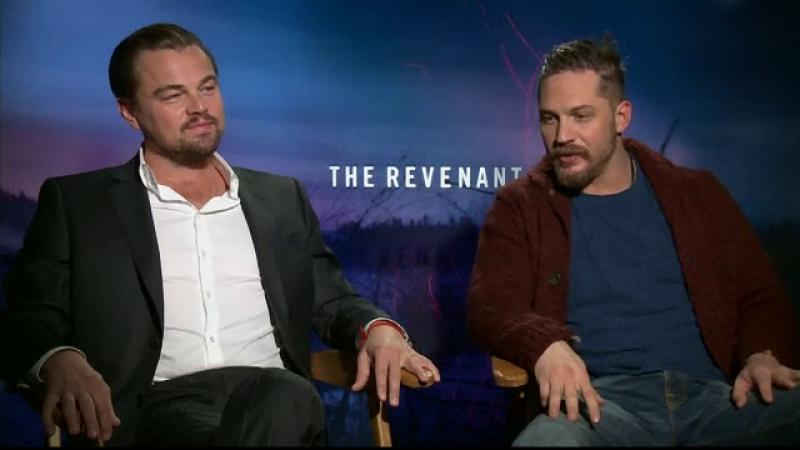 Leonardo DiCaprio si Tom Hardy, la premiera The Revenant. Sacrificiile pe care le-au facut pentru un film de Oscar