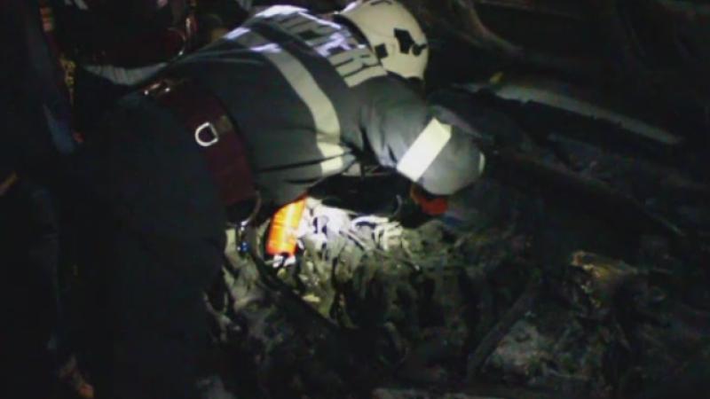 Momente de groaza pentru o familie din Dej, a carei masina a luat foc in mers. De la ce a pornit incendiul