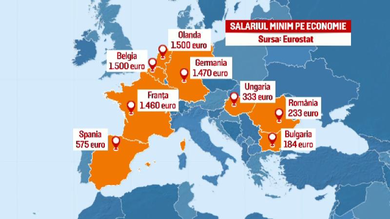 Guvernul decide pe 30 decembrie daca majoreaza salariul minim pe economie la 1.200 de lei. Masura vizeaza 1,4 mil. romani