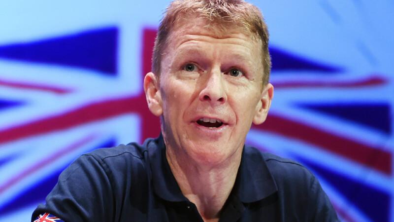 Greseala facuta de astronautul britanic de pe Statia Spatiala International.
